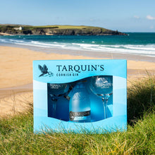 Load image into Gallery viewer, Tarquin's Cornish Dry Gin With Goblet Glasses Gift Set