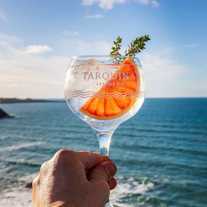 x2 Tarquin's Limited Edition Clear Copa Gin Glasses
