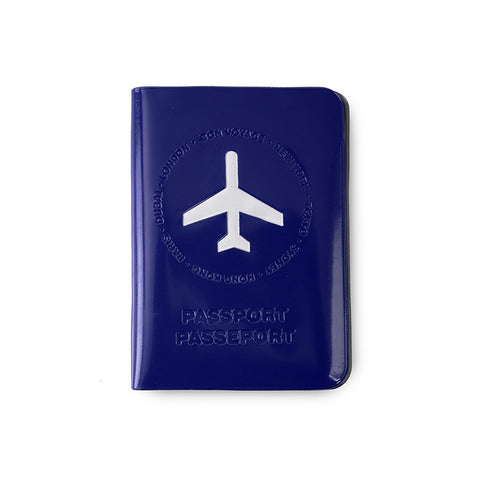 Leo by Heys - Travel Passport Case - Blue