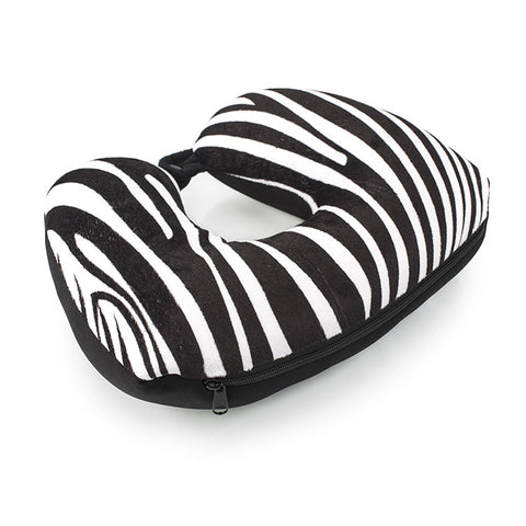 Leo by Heys - 2-in-1 Travel Pillow - Zebra