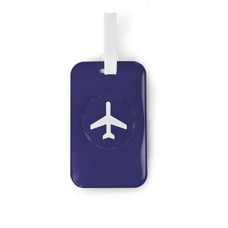 Leo by Heys - 2pc Travel Luggage Tags - Blue