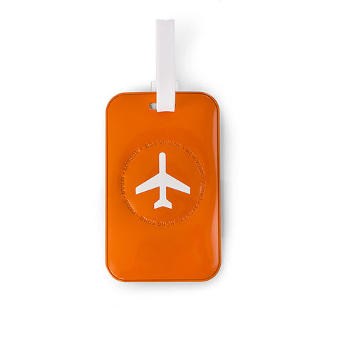 Leo by Heys - 2pc Travel Luggage Tags - Orange