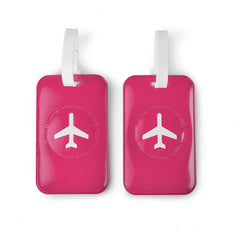 Leo by Heys - 2pc Travel Luggage Tags - Fuchsia