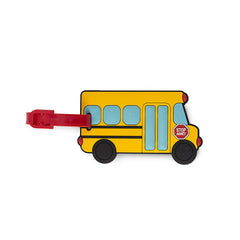 Leo by Heys - Custom Luggage Tag - School Bus