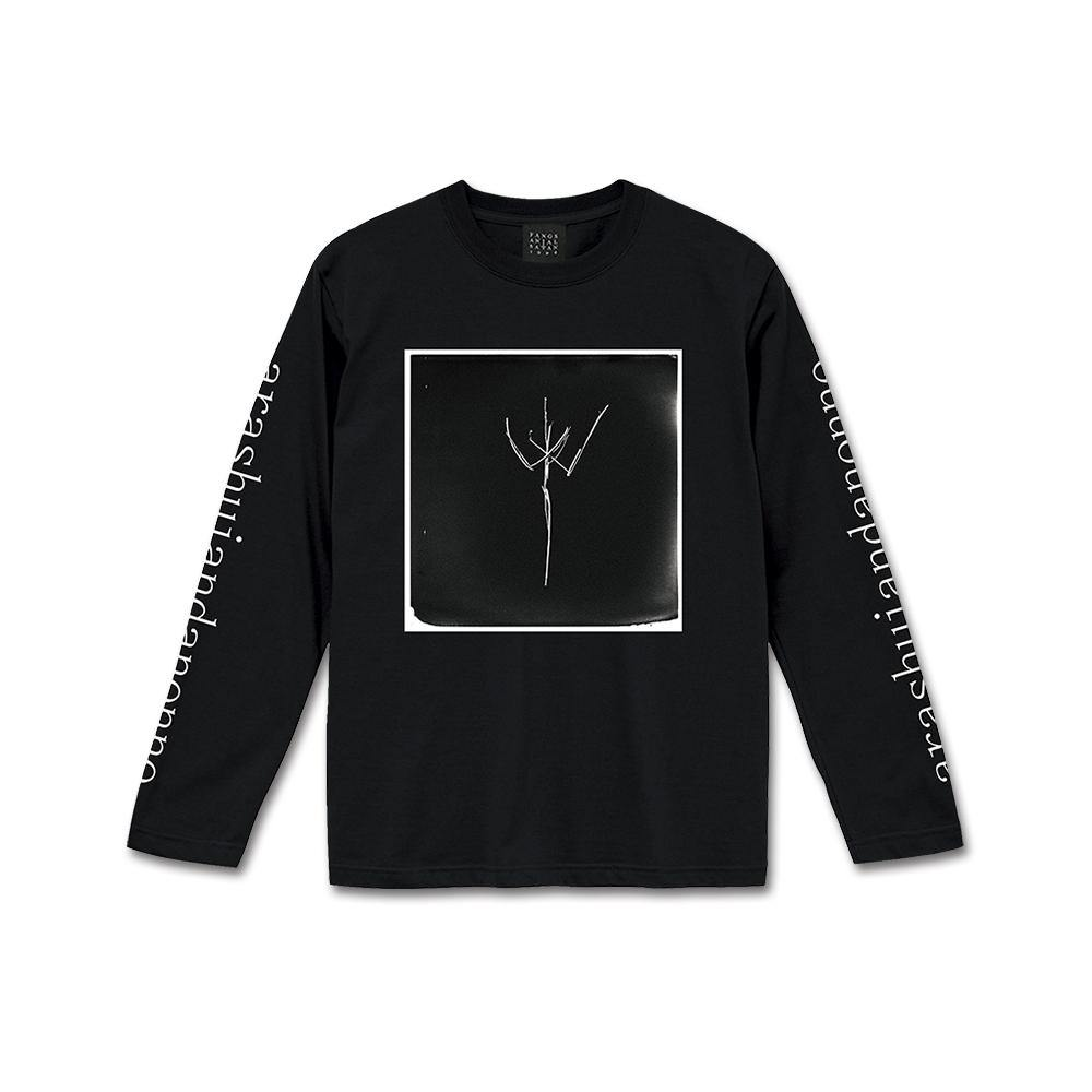 "A/N ""II"" Long Sleeve T-Shirt 黒"
