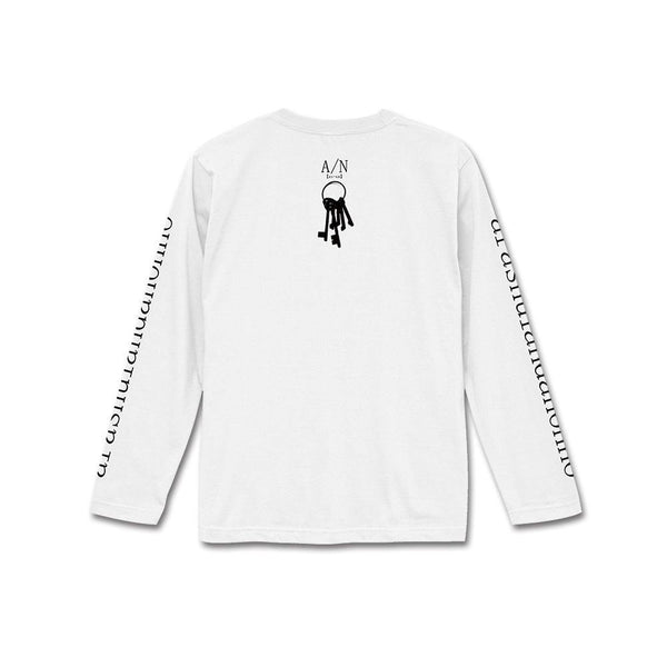 "A/N ""II"" Long Sleeve T-Shirt White (M, L) - Inoxia Records"