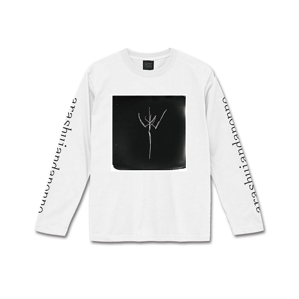 "A/N ""II"" Long Sleeve T-Shirt 白 (M, L)"
