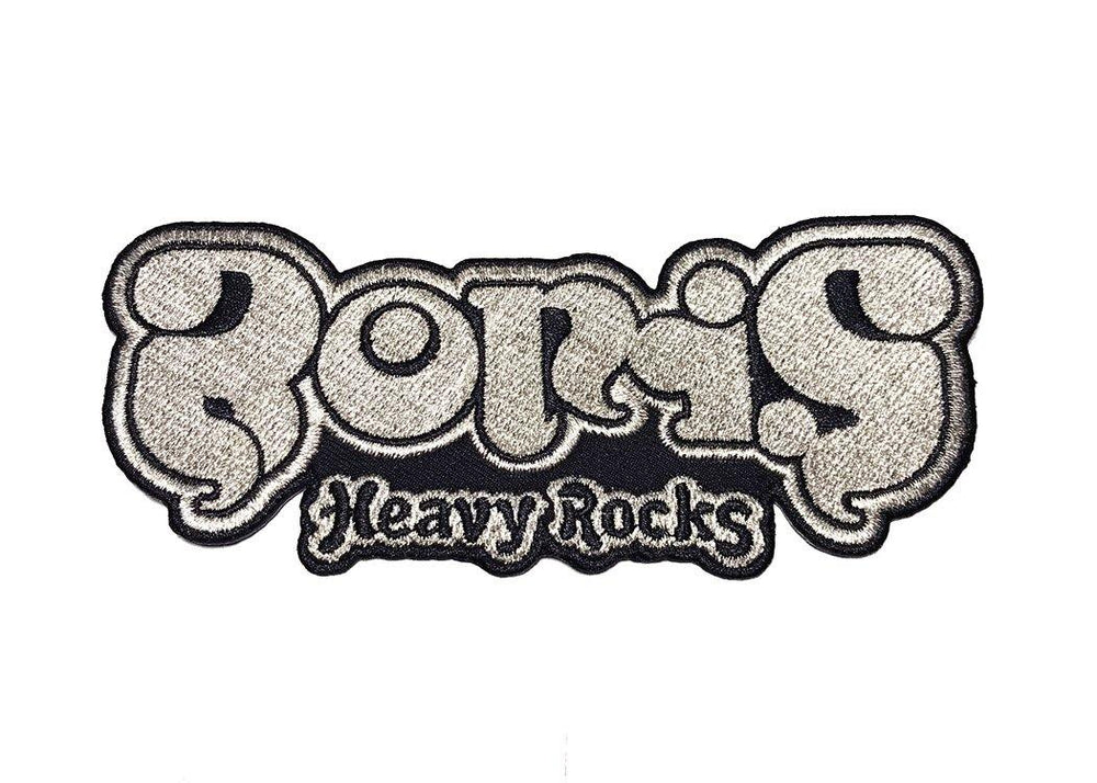 "Boris / ""Heavy Rocks"" 刺繍パッチ"