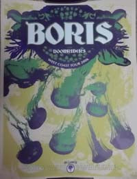 Boris / West Coast 2006 Poster