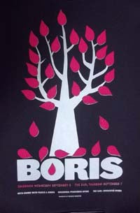 Boris at Caledonia and Earl Poster Black