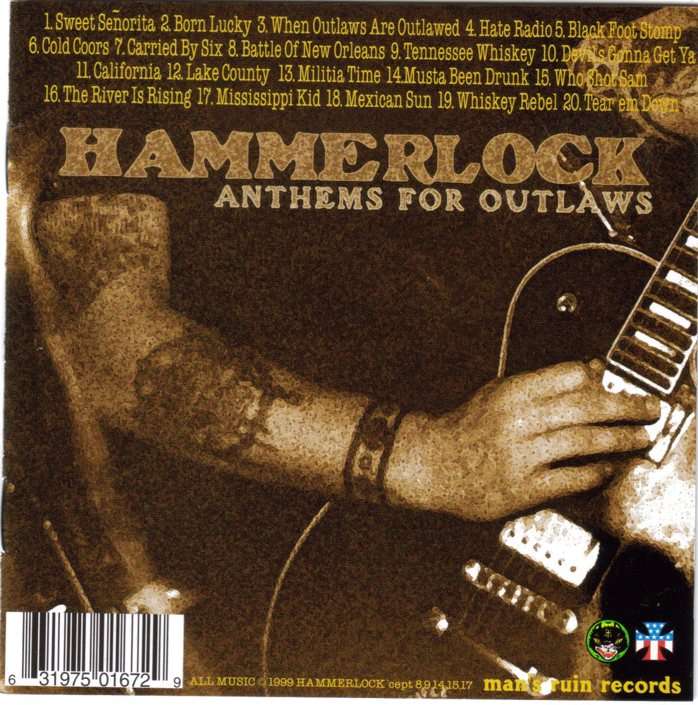 HAMMERLOCK / ANTHEMS FOR OUTLAWS