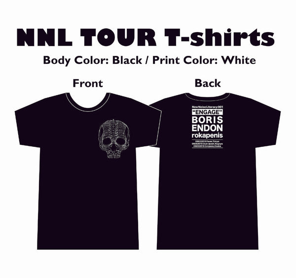 NNL001 Engage Japan Tour T-shirt (Boris, Endon, rokapenis)