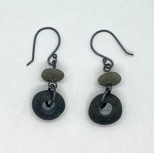 Double Rock Earrings