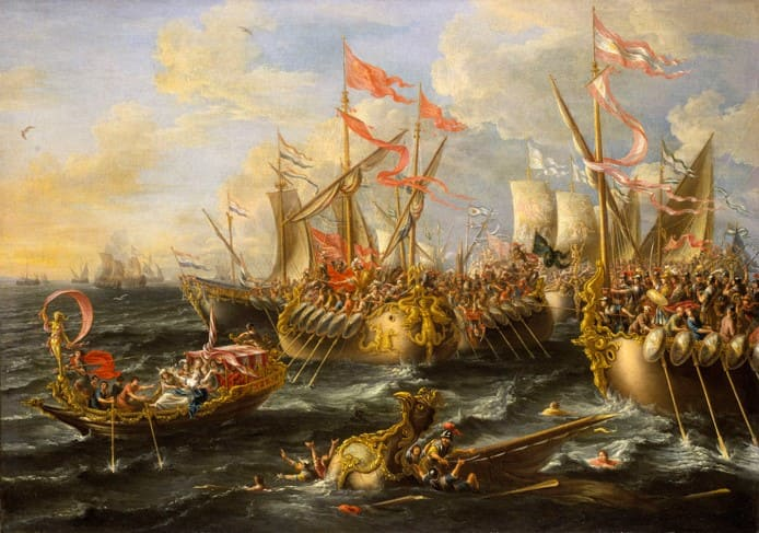 Facts of arms: Battle of Actium (31 BC)