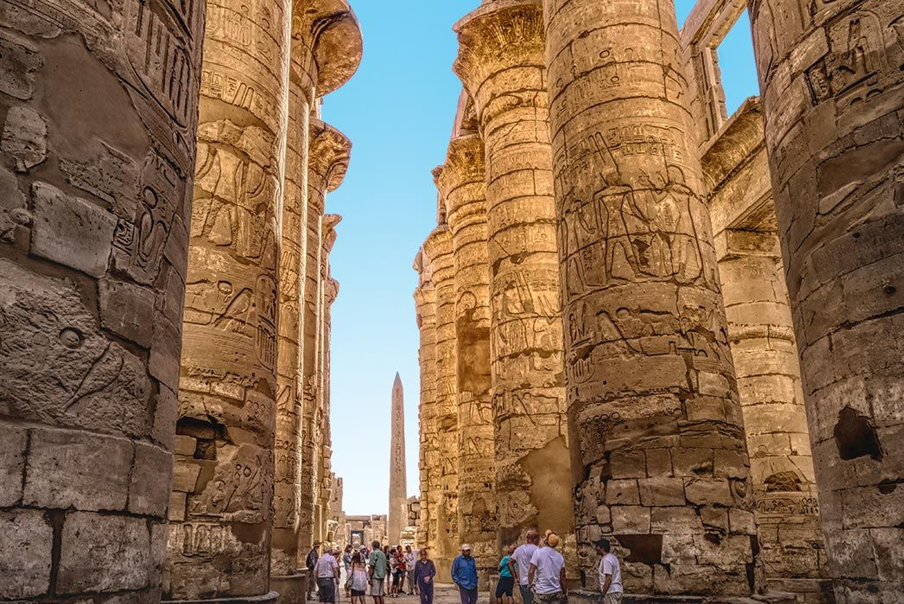 Karnak Temple in Luxor and the Valley of the Kings