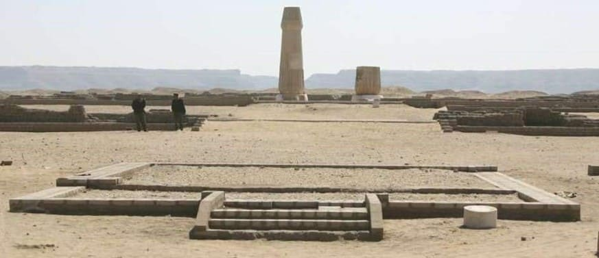 Rest of the city of Amarna