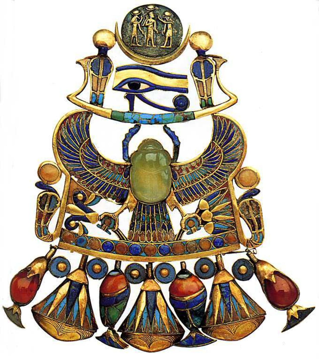 Ornament of the most famous pharaoh