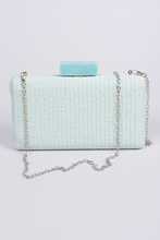 Load image into Gallery viewer, Straw Chain Clutch **Pink Available for Next Day Shipping**