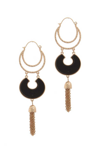 Chic Drop Earring **Available for Next Day Shipping**
