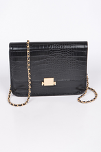 Load image into Gallery viewer, Square Embossed Clutch **Black Available for Next Day Shipping**