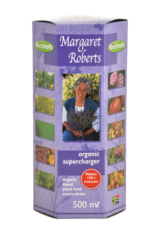 Margaret Roberts Supercharger Liquid Fertiliser   500ml