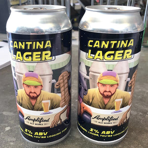 CANTINA LAGER  (4PACK)