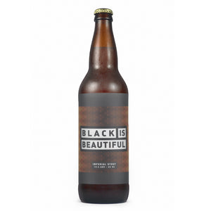 BLACK IS BEAUTIFUL - 22oz BOMBER