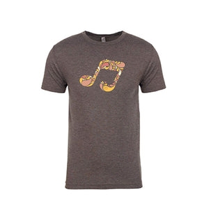 MACCHIATO MUSIC NOTE TEE - SHORT SLEEVE