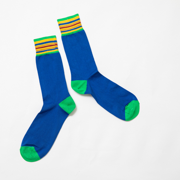 Kente Stripe Comfy Socks