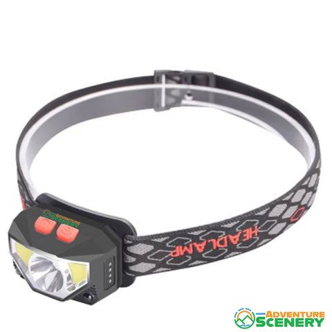 USB Rechargeable Headlamp - Adventure Scenery