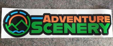 Adventure Scenery 40cm Sticker