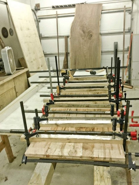 Glue Up from thewoodstudio.us