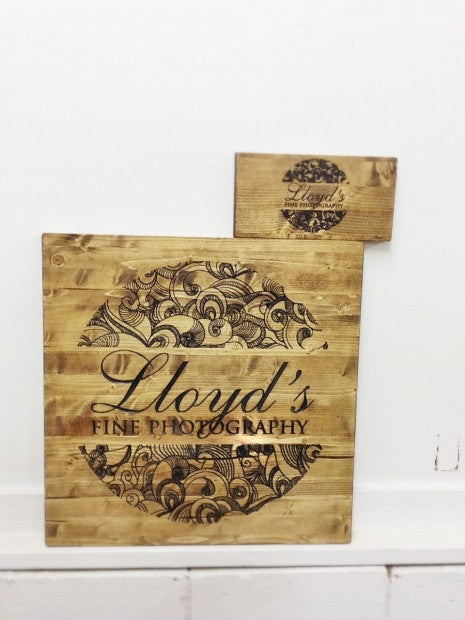 Carved Sign from thewoodstudio.us