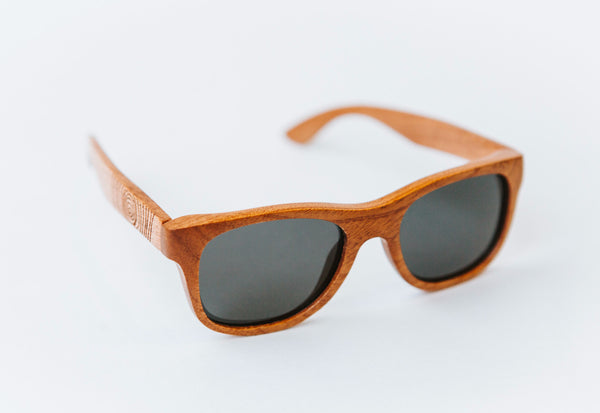 mahogany wooden sunglasses