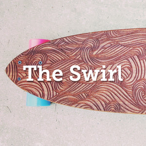 The Swirl Longboard