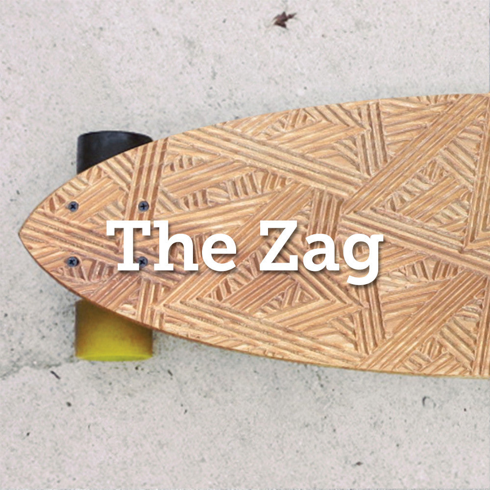 The Zag Longboard