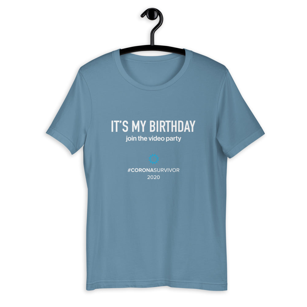 It's My Birthday Join The Video Party - Dark Version