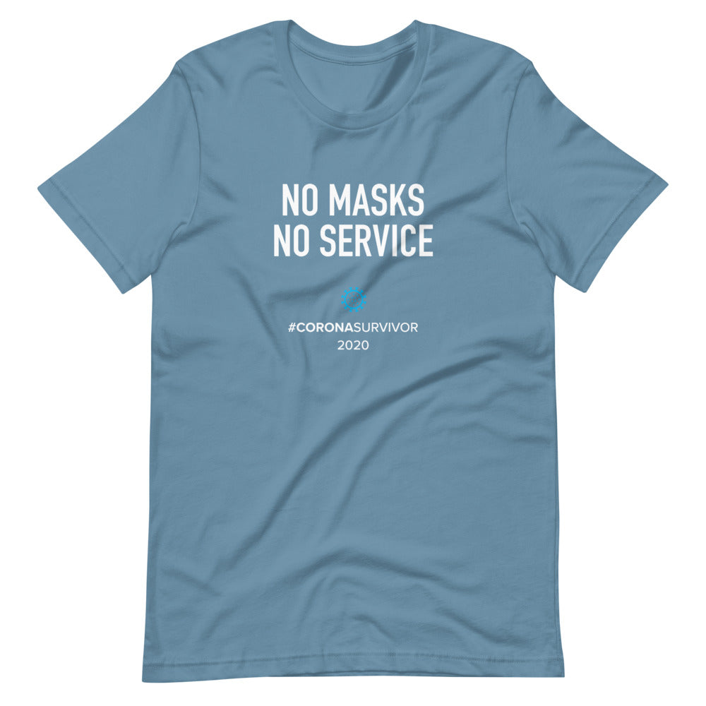 No Masks No Service - Dark Version