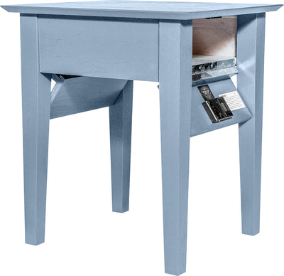 THE DIPLOMAT: End Table - Side Table