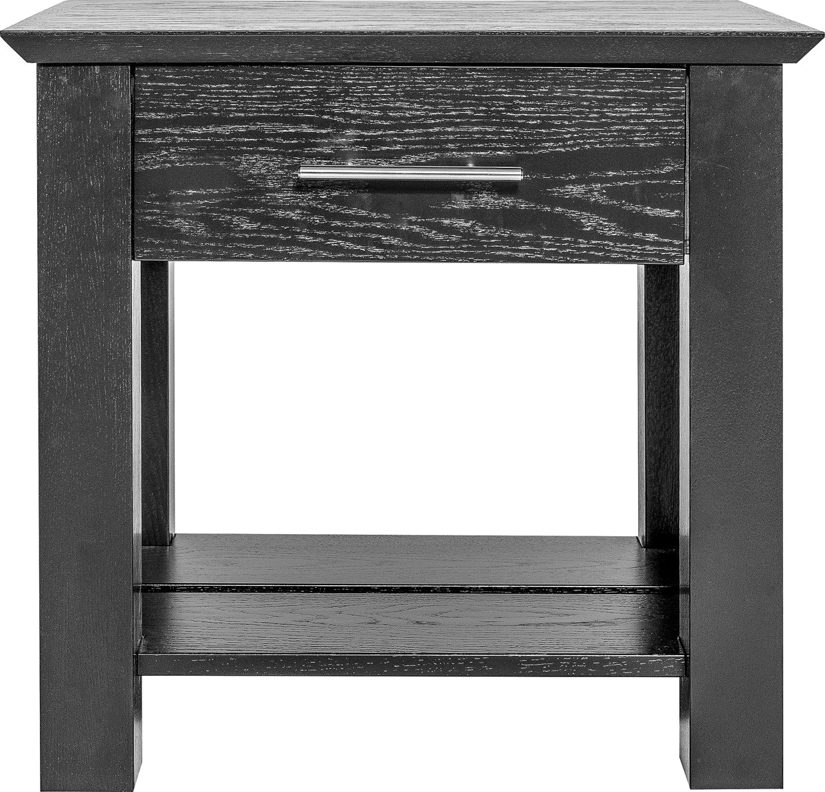 THE ALLEGIANT: Nightstand (1 drawer- small rear compartment)