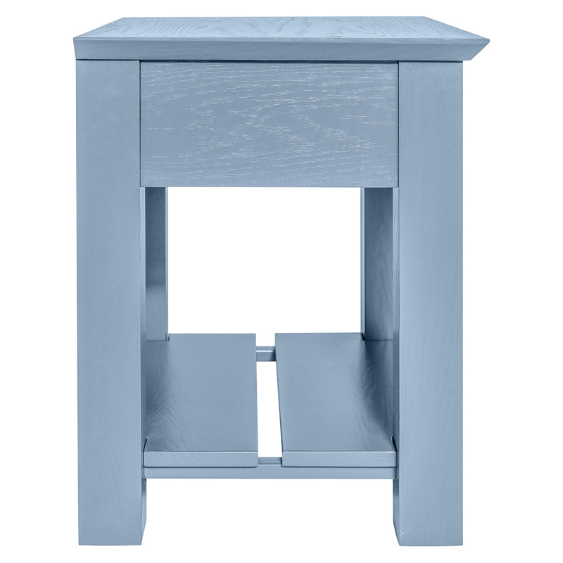 THE FREEMAN: Nightstand- no drawer