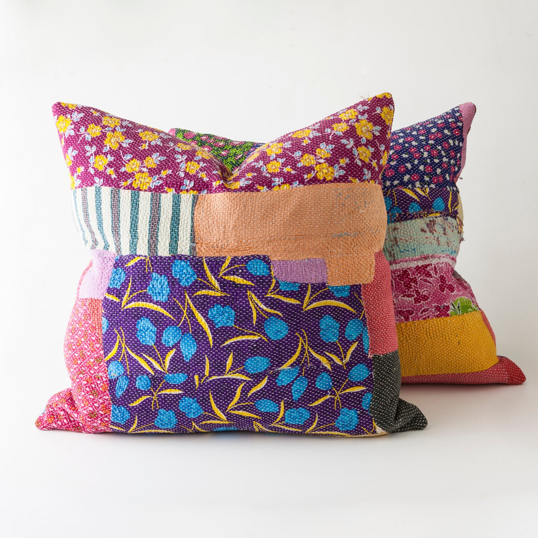 kantha pillows *sold*