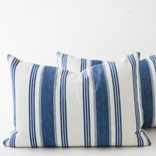 Load image into Gallery viewer, classic french ticking stripe pillows