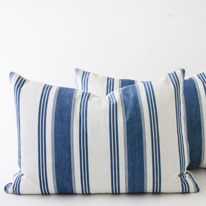 classic french ticking stripe pillows
