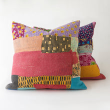 Load image into Gallery viewer, kantha pillows *sold*