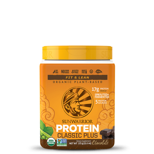 Organic Protein 375g Classic Plus - Natural-Health & Beauty-humblys.com