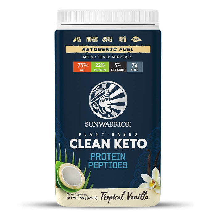 Clean Keto - Tropical Vanilla Protein Fuel-Health & Beauty-humblys.com
