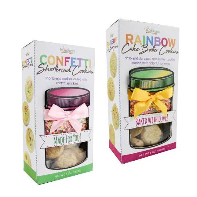 Confetti Cookies Short Bread - Case of 12-Food & Grocery-humblys.com