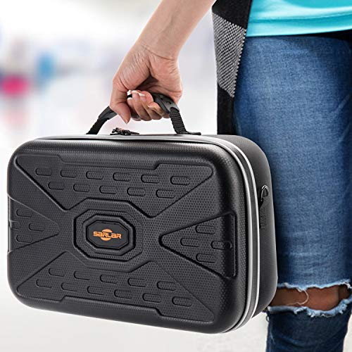 SARLAR Fashion Travel Protective Case for Oculus Quest VR Gaming Headset and Touch Controllers Accessories Carrying Bag,Includes multiple Oculus Quest accessories-Video Games-humblys.com