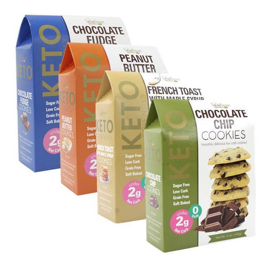Delicious Keto Cookies - Case of 12-Food & Grocery-humblys.com